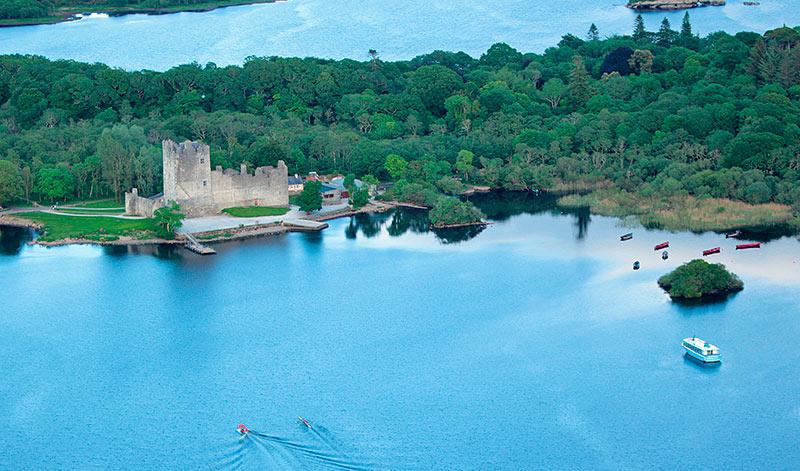 Ross Castle aerial